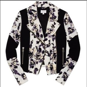 Wilfred Aritzia Floral Bomber Jacket
